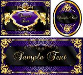 Royal Template Set Purple