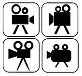 Movie Camera Signs