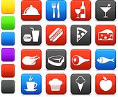 food and drink icon collection