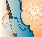 violin and key