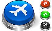 Airplane Icon on Internet Button