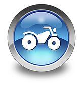 Icon, Button, Pictogram ATV