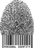 fingerprint bar code
