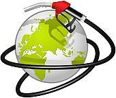 Terrestrial globe obvoluted Fuel ho