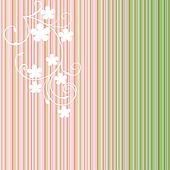 Striped background with gradients