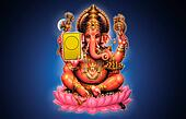 Illustration of Ganesh - Indian God