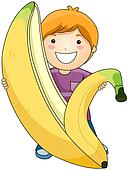 Boy with Banana