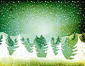 grunge fir forest