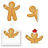 Gingerbread Mans Big Set