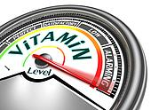 vitamins conceptual meter