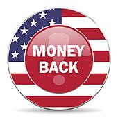 money back american icon