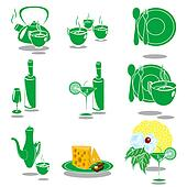 Green Dishes