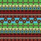 Colored texture with african traditional ornaments
