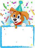 Baby Dog Birthday