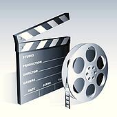 Movie symbols.