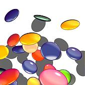 Graphical illustration of candy