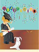 Graduating, when I grow up....