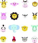 icon set animal