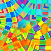 Abstract Rainbow Illustration