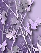 Purple vines