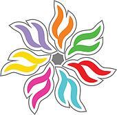 Colorful design element