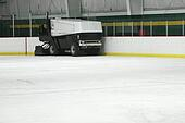 A Zamboni Ice Machine