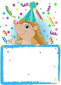 Baby Hedgehog Birthday