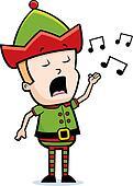 Elf Singing