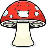 Magic Mushroom Smiling