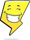 Lightning Bolt Smiling