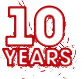 number 10 year clipart