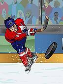 Washington ice hockey player