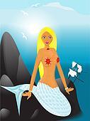 mermaid on reeves
