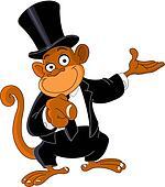 Pointing monkey 2