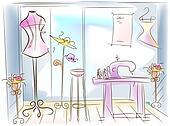 Dressmaking Room