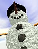 Snowman vertical