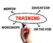 Training Diagram Displays Mentorship Education And Job Preparati