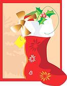 Santa clause boot