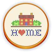 Home Cross Stitch Embroidery