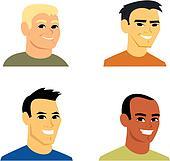 Cartoon Avatar Portrait Illustration