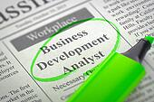 Job Opening Business Development Analyst.