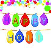 Colorful Holi Background