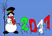 snowman, 2011