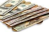 Dollars euros
