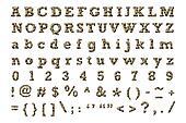 Hyena alphabet