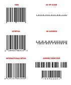 Bar Codes (Various)