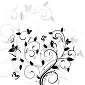 abstract pattern bush