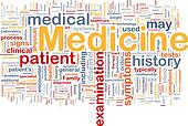 Medicine health background concept