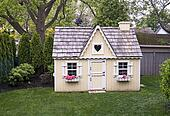 Playhouse in the yard