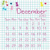Calendar for December 2010